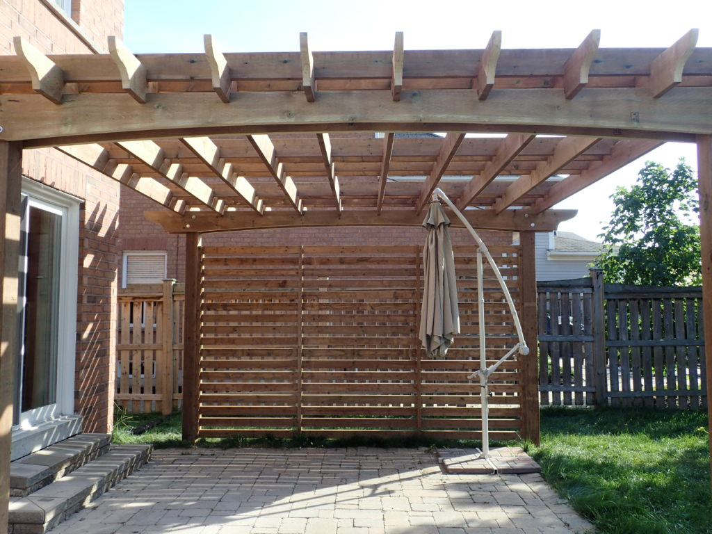 privacy screen structures shade maker custom garden structures 705